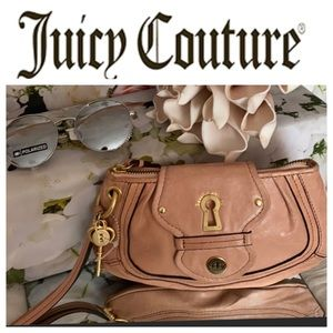Juicy Couture Leather Wristlet